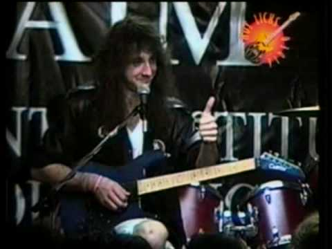 Jason Becker playing End of the Beginning (RARE AND AWESOME)