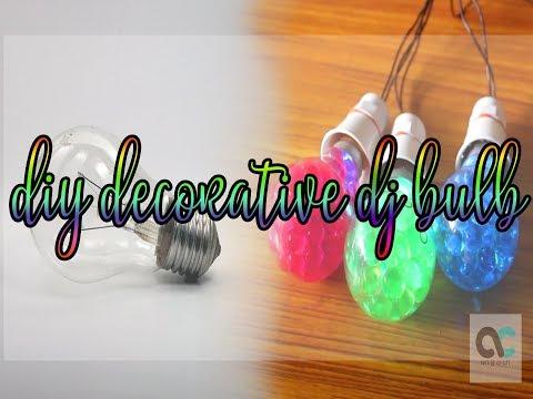DIY LED Decorative DJ Bulb from Scrap