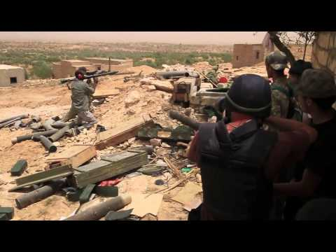 Real Life Military Game In Libya.