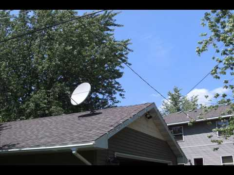 Garage Or Roof For Your Satellite Dish Youtube