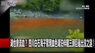 湖也會流血? 四川白石海子驚現血色湖泊伴隨三頭巨龜出沒之謎! 馬西屏 陳耀寬 朱學恒20170118-3 關鍵時刻