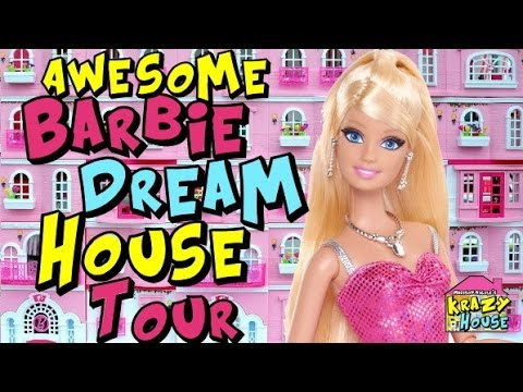 Barbie dream house doll house tour 2014 youtube