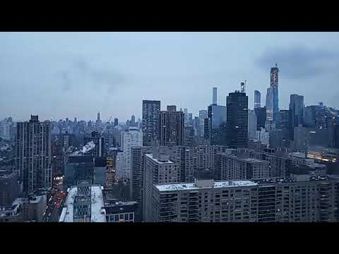 Cloudy NYC skyline with Opie - Grammys and Black Face - @OpieRadio