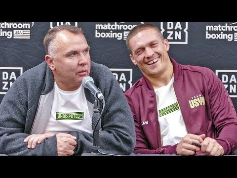 POST FIGHT | Oleksandr Usyk Vs. Chazz Witherspoon PRESS CONFERENCE - Boxing