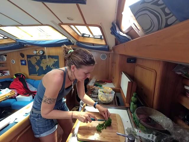 Cuisiner en mer