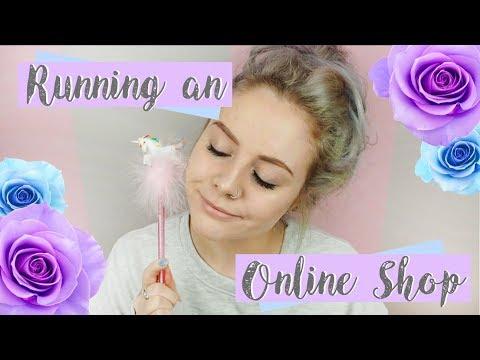 Running An Online Shop | Ellis Woolley