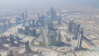 Visiting 148 floor At The Top Sky (555 meter) Burj Khlalifa Dubai زيارة الطابق 148 برج خليفة دبي