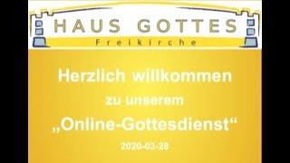 2020 03 28 - Onlinegottesdienst - Seitenwechsel - Teil 5
