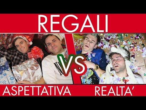 REGALI DI NATALE - Aspettativa VS Realtà - iPantellas