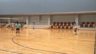 女丙排球友誼賽vs聖瑪加利 第一局 part1