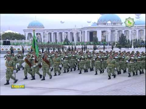 Turkmenistan Military Parade, October 27 2014
