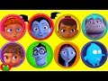 Disney Jr. Vampirina Play Doh Surprises Learn Colors