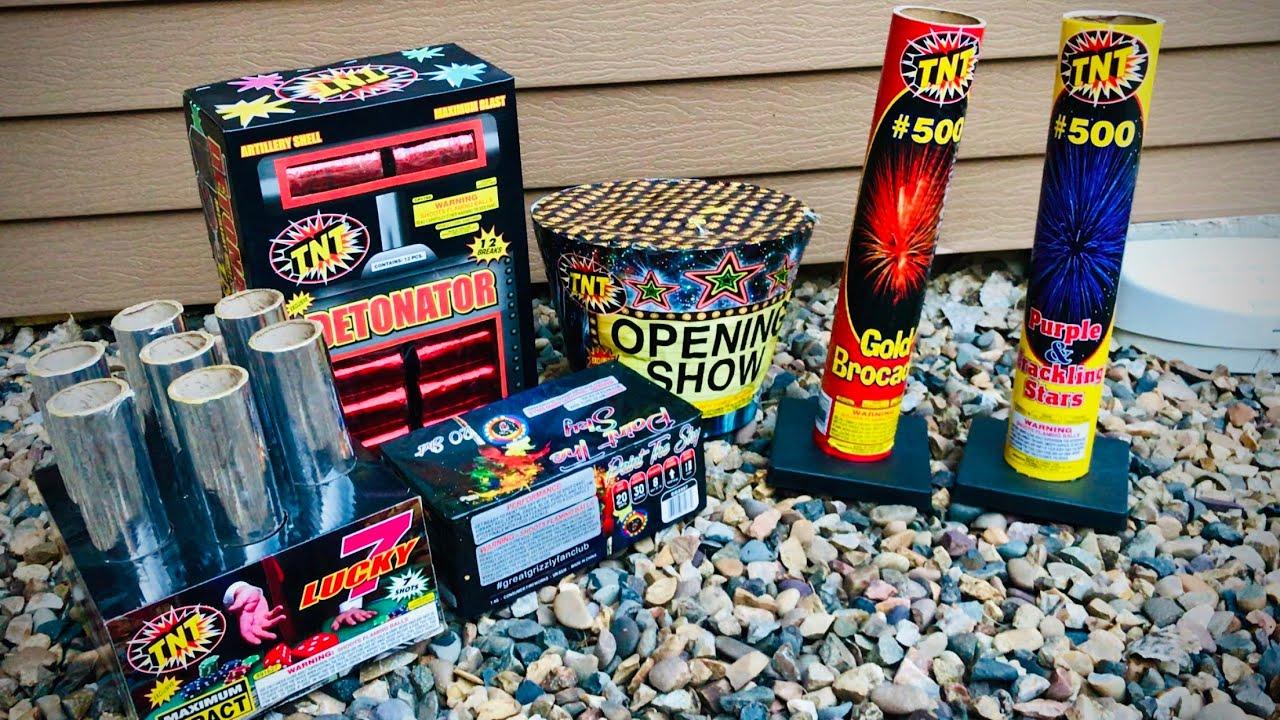 Lighting $250 Worth of TNT Fireworks
