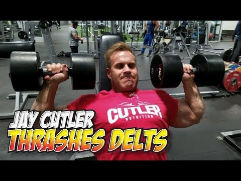 JAY CUTLER THRASHES DELTS (EXPLAINED IN DETAIL)