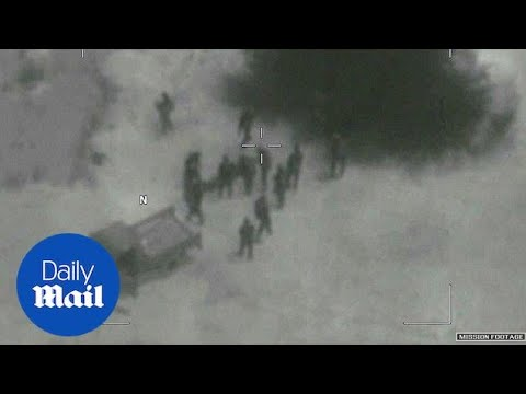 Video of Niger ambush shows US forces trying to escape - Daily Mail