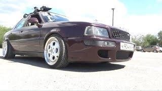 Audi 80 250-сильный чемпион выхлопа и тюнинга!/Audi 80 250-strong exhaust and tuning champion!