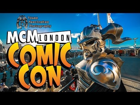 MCM London Comic Con 2014 Cosplay Music Video (Camera Raw Video with Dual ISO)