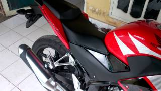 Cbr 150 lokal/k45 stock red champ (Duri,Riau)