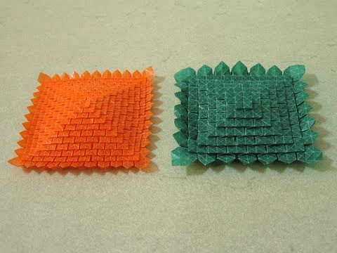 Origami Tessellation Instructions Multi Stage Clover Folding Shuzo Fujimoto