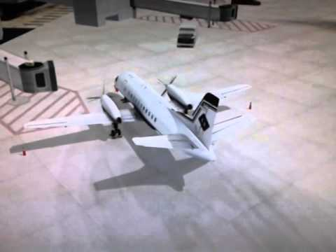 Saab 340A Vertical Stabilizer Strange Movement