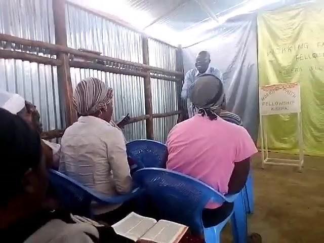 Bro Joseph Preaching Gifts of The Holy Spirit - WFF Kibera Slum Kenya