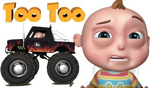 TooToo Boy - Toil It Episode  Cartoon Animation For Children  Funny Comedy Show