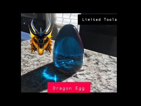 DIY Epoxy Dragon Egg No Lathe