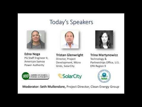 American Samoa's Solar+Storage Microgrid (2.16.2017)