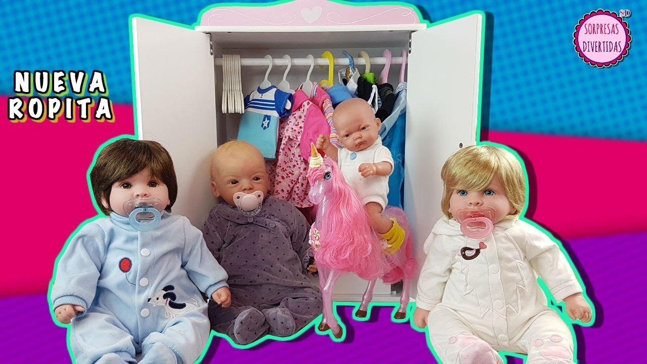 Artesanato Lucrativo ~ Ropa para Muñecas Bebé Armario de juguete de Lindea, Ben, Finn y Molly YouTube