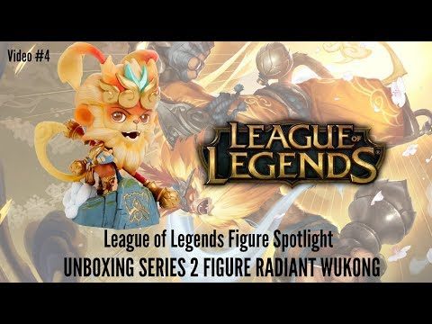 League of Legends Figure Spotlight #4 - Unboxing Series 2 Radiant Wukong Figure