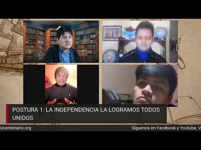 La independencia del Perú a debate