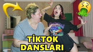 ANNEM İLE TİKTOK DANS AKIMLARINI DENEDİK !! (REZİL OLDUK)