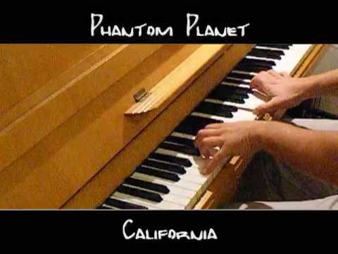Phantom Planet - California - Piano Cover