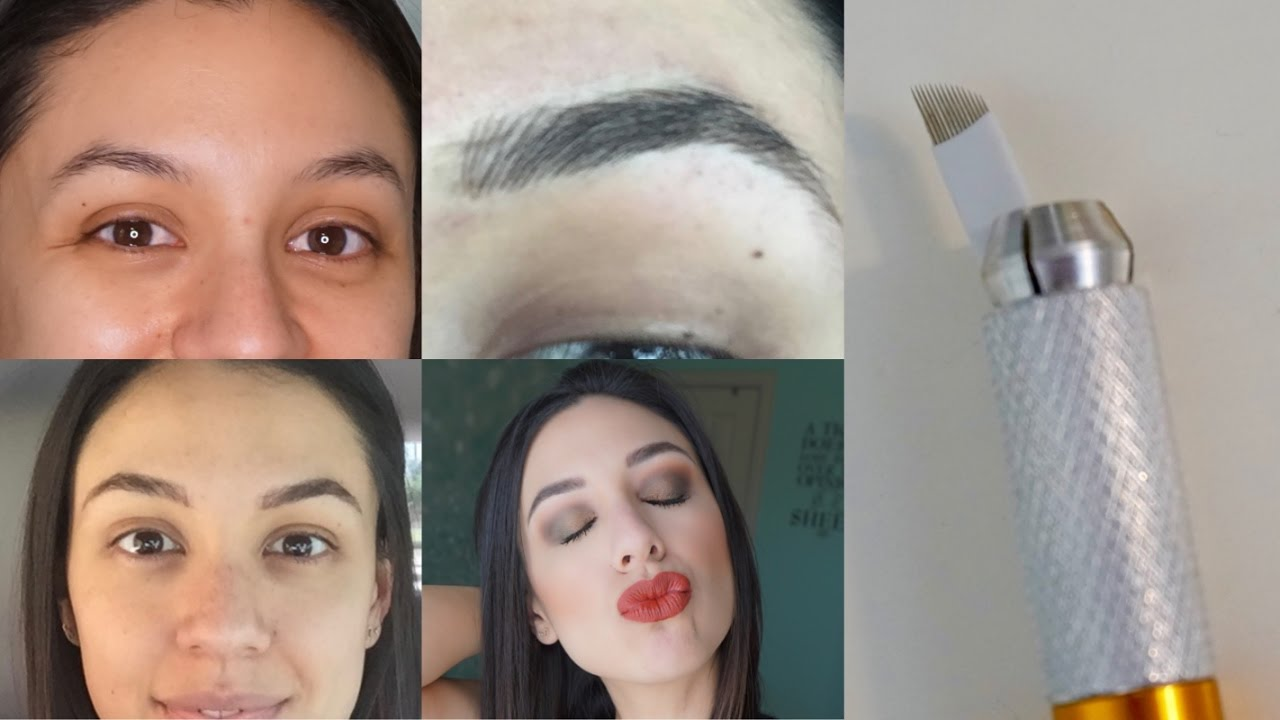 Microblading | A comprehensive, IN DEPTH explanation with BEFORE + AFTER  footage