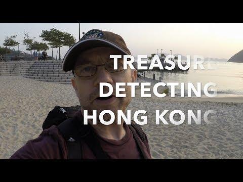 Treasure detecting the beaches of Hong Kong
