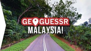 Exploring My Country for the First Time in GeoGuessr! - Let's Visit Malaysia