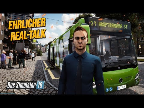 BUS SIMULATOR 18: Der ehrliche Real-Talk aus dem Bus | Bus Simulator 2018