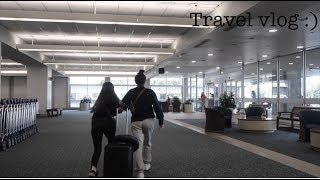 TRAVEL VLOG/ 15 AND 17 YR OLD TRAVELLING ALONE!!