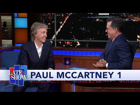 Don Action Jackson - Paul McCartney's Full TV Appearance On Stephen Colbert