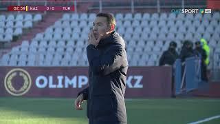 Казахстан U-21  0-1  Турция U-21 видео
