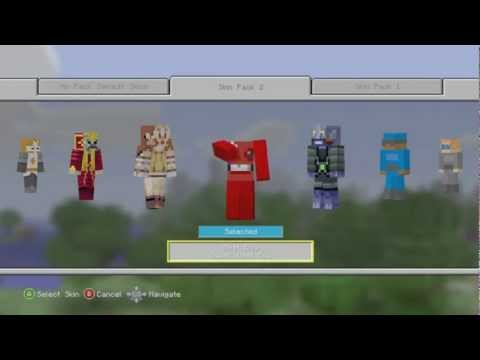 Minecraft Xbox 360 Edition: Skin Pack 2 (All Skins)