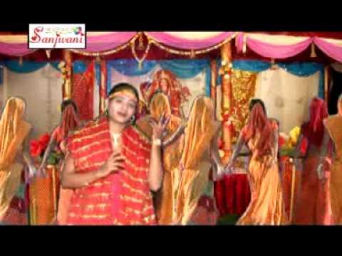 New 2015 Bhojpuri Devi Geet || Lale Lale Doliya A Maiya || Simran Saksena