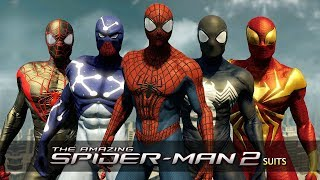 The Amazing Spider-Man 2 | All Suits & Costumes (Gameplay)