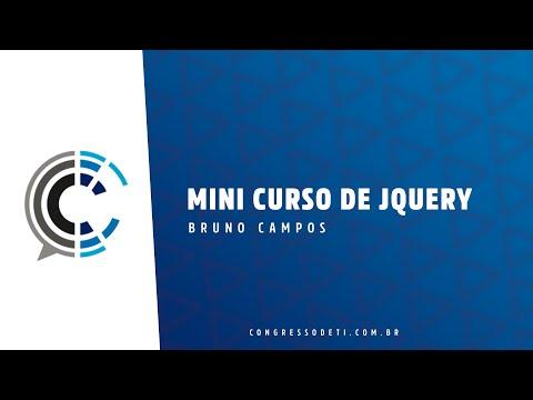 Mini Curso de JQuery - Bruno Campos thumbnail