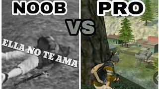 NOOB vs PRO - Free fire!