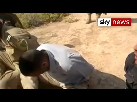ISIS Fighter Forces Iraqi Soldiers To Chant Slogan