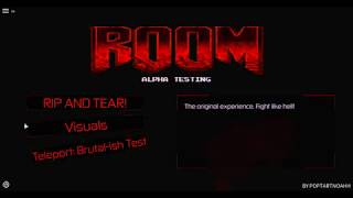Roblox doom engine (all secrets and weapons)