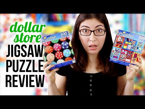 Cheap DOLLAR STORE Jigsaw Puzzles Review