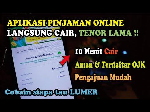 Aplikasi Pinjaman Online Langsung Cair Terdaftar Ojk Dan Bunga