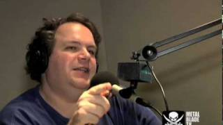 Charred Walls Of The Damned guests on Eddie Trunk's Radio Show part 1
